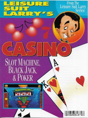 Leisure Suit Larry's Casino cover