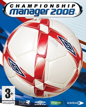 Championship Manager 2008 cover