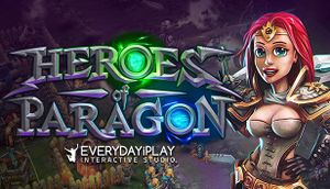 Heroes of Paragon cover