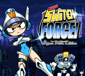 Mighty Switch Force! Hyper Drive Edition cover