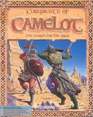 Conquests of Camelot: The Search for the Grail cover