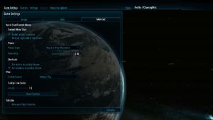 In-game advanced general settings.