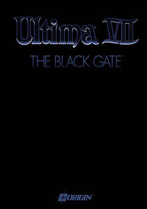 Ultima VII: The Black Gate cover