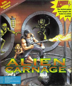Alien Carnage cover