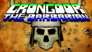Crongdor the Barbarian cover