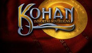 Kohan: Immortal Sovereigns cover
