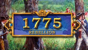 1775: Rebellion cover