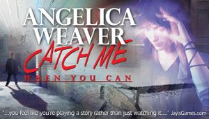 Angelica Weaver: Catch Me When You Can cover