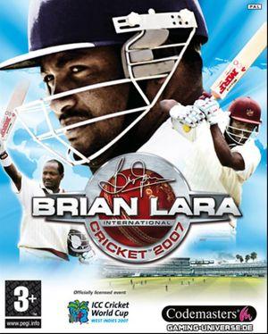 Brian Lara International Cricket 2007 cover