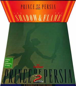 Prince of Persia 2: The Shadow and the Flame cover