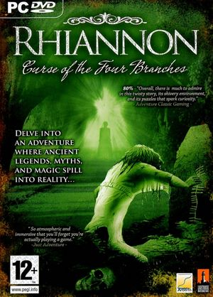 Rhiannon: Curse of the Four Branches cover