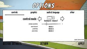 Keyboard remap settings (1/2)