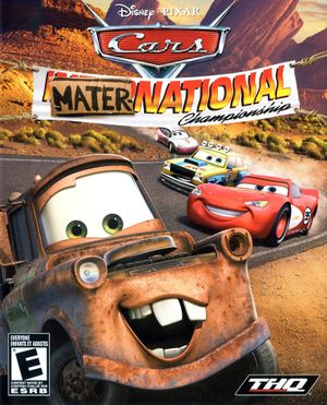 Cars Mater-National Championship cover
