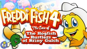 Freddi Fish 4: The Case of the Hogfish Rustlers of Briny Gulch cover