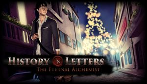 History in Letters - The Eternal Alchemist cover
