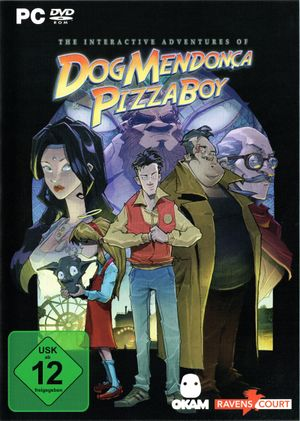 The Interactive Adventures of Dog Mendonça and Pizzaboy cover