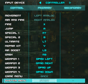 Controller remapping.