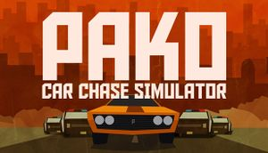 PAKO - Car Chase Simulator cover