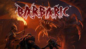 Barbaric cover