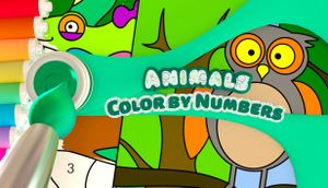 Color by Numbers - Animals cover