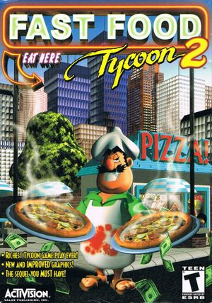 Fast Food Tycoon 2 cover