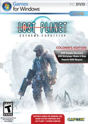 Lost Planet: Extreme Condition Colonies Edition cover