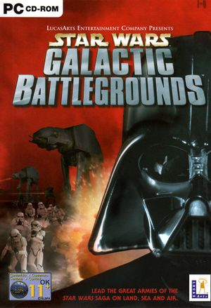 Star Wars: Galactic Battlegrounds cover