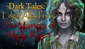 Dark Tales: Edgar Allan Poe's The Mystery of Marie Roget cover