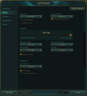 League of Legends - PCGamingWiki PCGW - bugs, fixes, crashes, mods