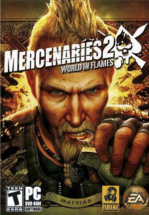Mercenaries 2: World in Flames cover