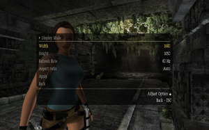 Tomb Raider: Anniversary - PCGamingWiki PCGW - bugs, fixes