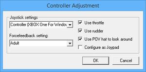 Launcher control settings.