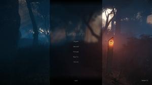 In-game language selection menu