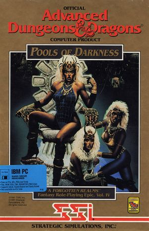 Pools of Darkness cover