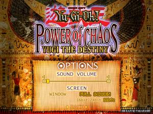 Yu-Gi-Oh! Power of Chaos: Yugi the Destiny - PCGamingWiki